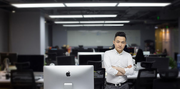 Bitcoin Market Cap >> Tron Crashes, Rumors Justin Sun, Its Founder, Sold 6 ...