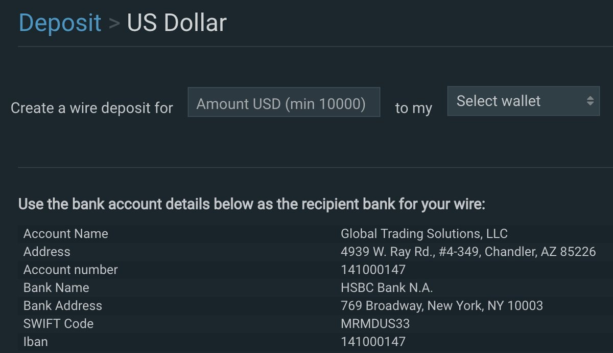 Bitfinex Banking with HSBC While Complaints of Withdrawal