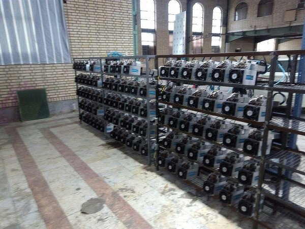 Alleged bitcoin mining in Iranian Mosque, June 2019