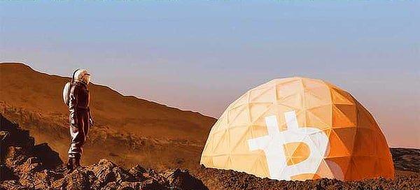 Bitcoin mars meme