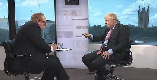 Boris Johnson Andrew Neil interview, July 2019