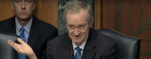 Senator Crapo says can't ban bitcoin, July 2019