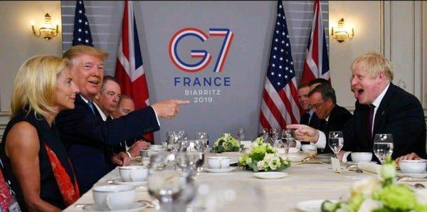 Boris, Trump, G7