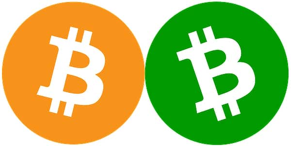 BTC and BCH