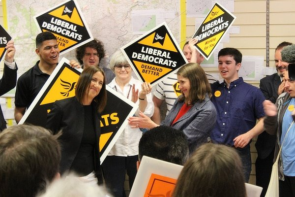 Libdem by-election historic win, August 2019