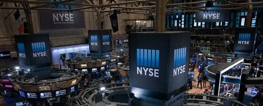 NYSE trading floor.