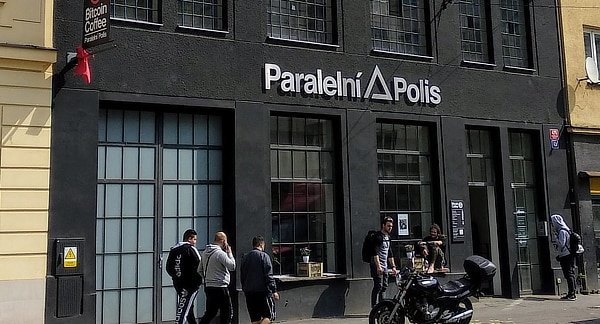 Paraleni Polis HQ Bitcoin Prague