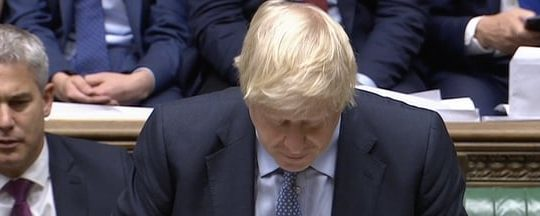 Boris loses votes in Parliament, Sep 4 2019
