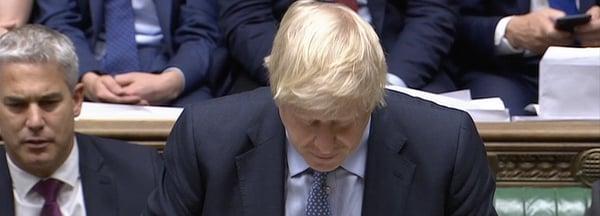 Boris loses votes in Parliament, Sep 4 2019
