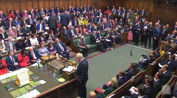 Conservative MP defects to Libdems, turning Boris majority into minority, Sep 3 2019