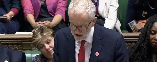 Corbyn abstains in election vote, Sep 4 2019