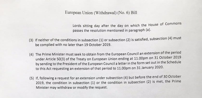 EU extension bill, Sep 2019