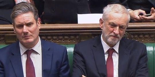 Starmer, Corbyn