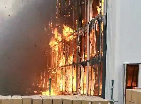 Bitcoin mining farm burns down, October 2019