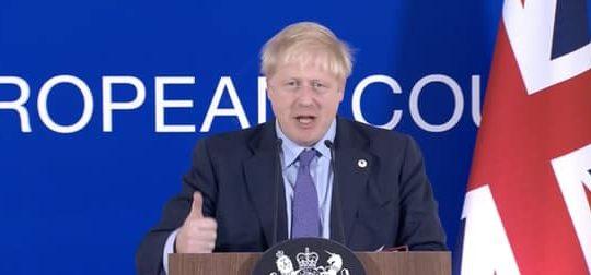 Boris deal speech, Oct 2019