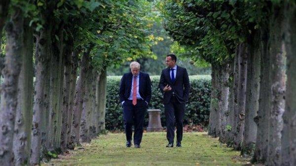 Boris, Vaaradkar, Brexit meeting, October 2019