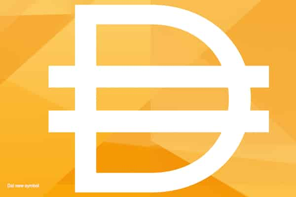 Dai new symbol, October 2019