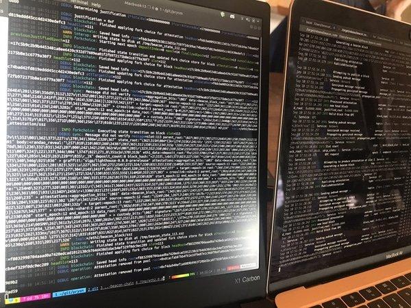 Ethereum 2.0 interop, Oct 2019