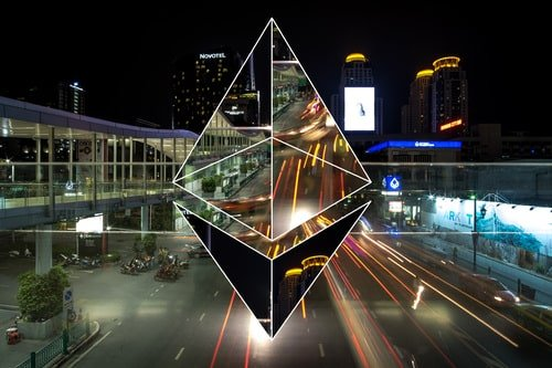 Ethereum art abstract