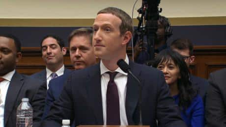 Zuckerberg in Congress on Libra
