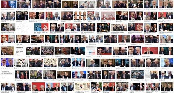 Boris v Corbyn, Nov 2019