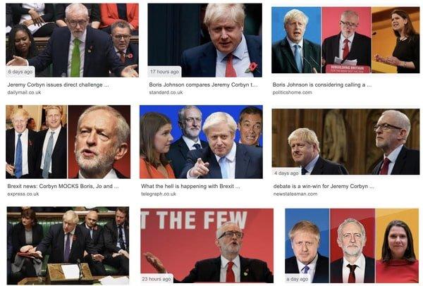 UK election, Nov 2019