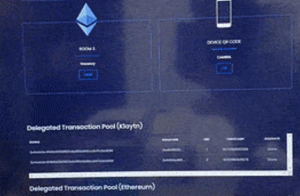 Ethereum relay chain connection, Jan 2020