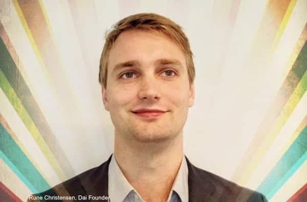Rune Christensen, DAI founder.