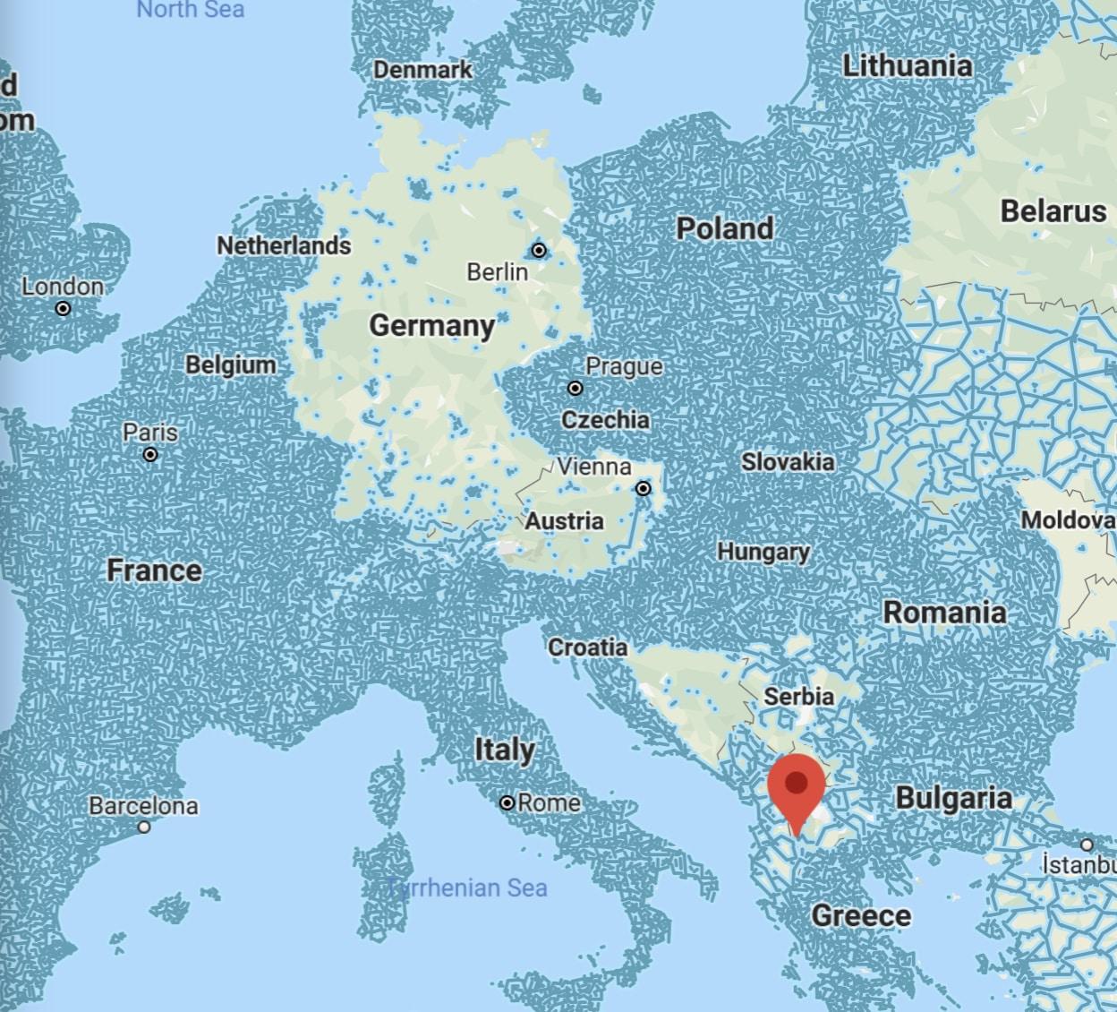 Germany Google Street View, May 2020