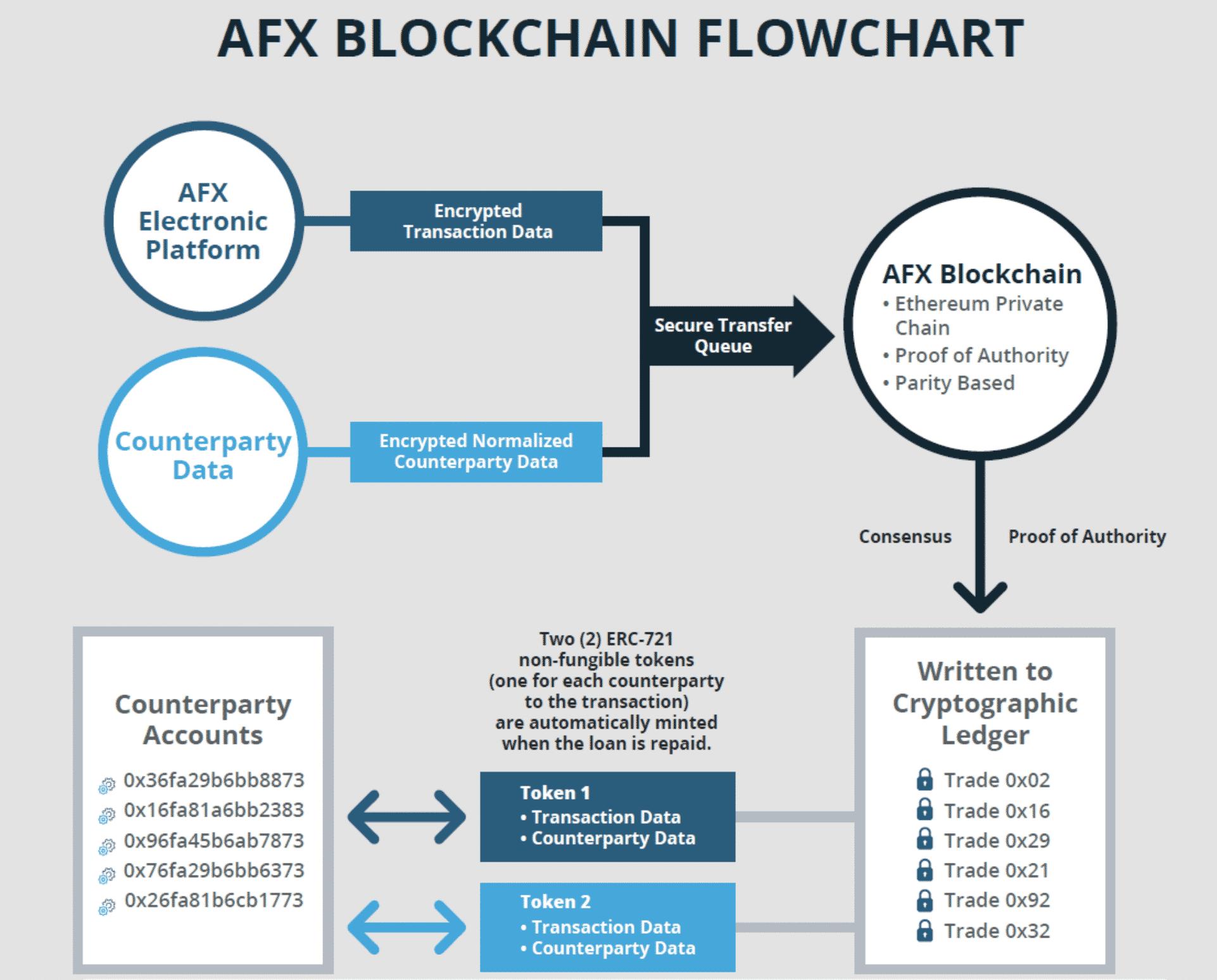 Ameribor's blockchain, June 2020