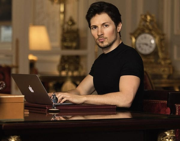 Pavel Durov in Paris, March 2017