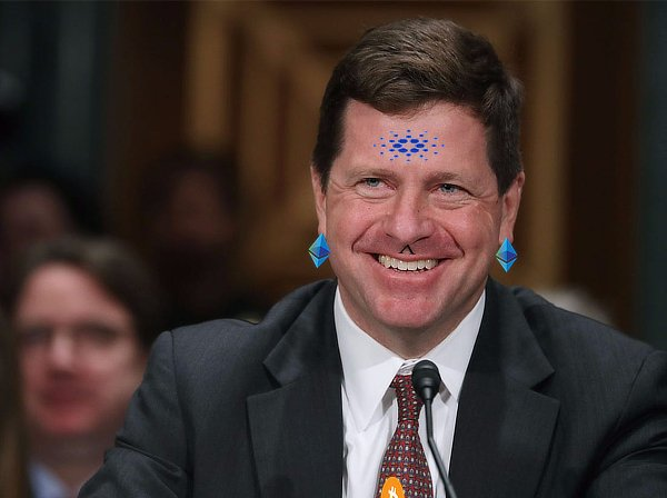 Jay Clayton, SEC chair, memed.