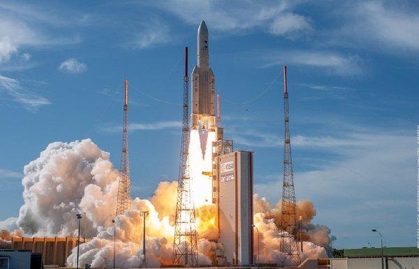 Ariane 5 European rocket, French Guinea