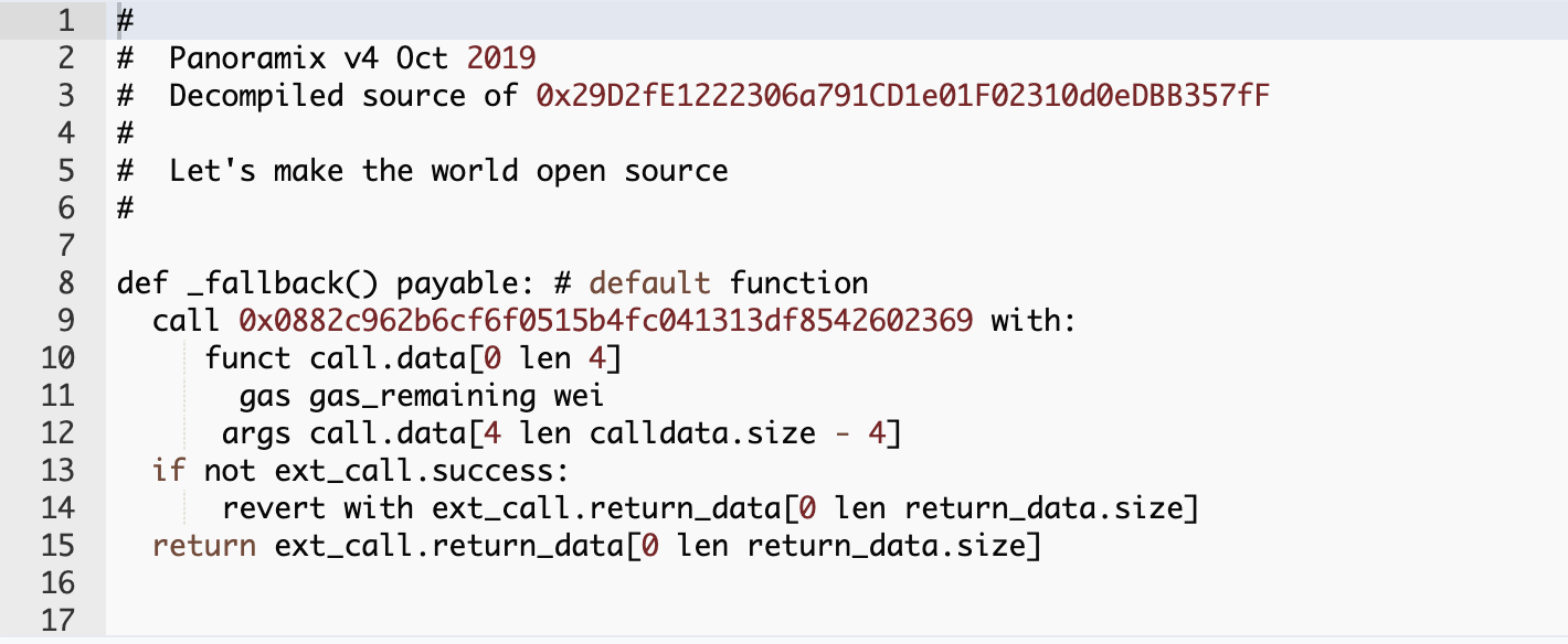 Self-destruct code? Aug, 2020.