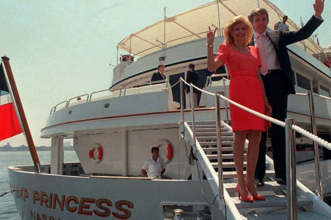 Trump 90s yacht