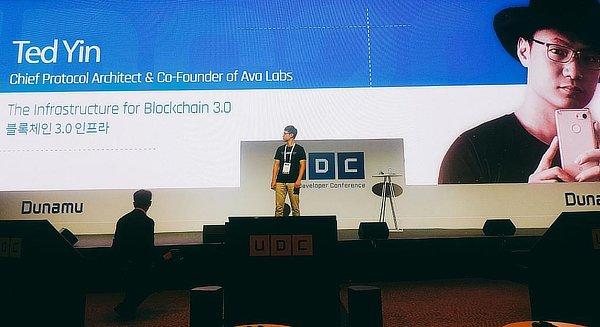 Ted Yin Ava Blockchain, Sep 2020