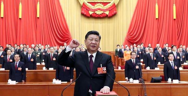 Xi communist fist