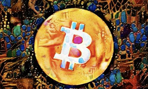 Bitcoin art, Nov 2020