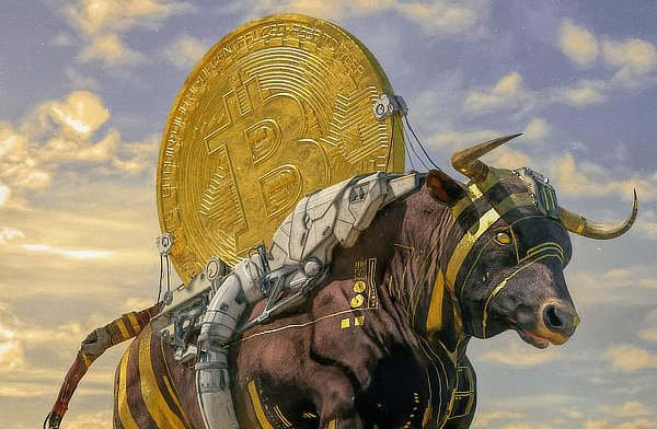 Bitcoin bull, Beeple, Nov 2020