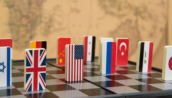 Geopolitical risk abstract