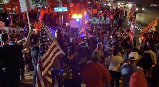 Trumpies protesting Biden win, Nov 2020