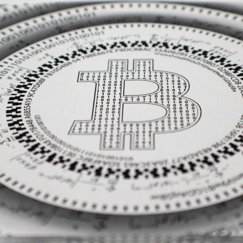 Bitcoin fractals art