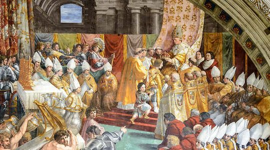 Charlemagne Crowning