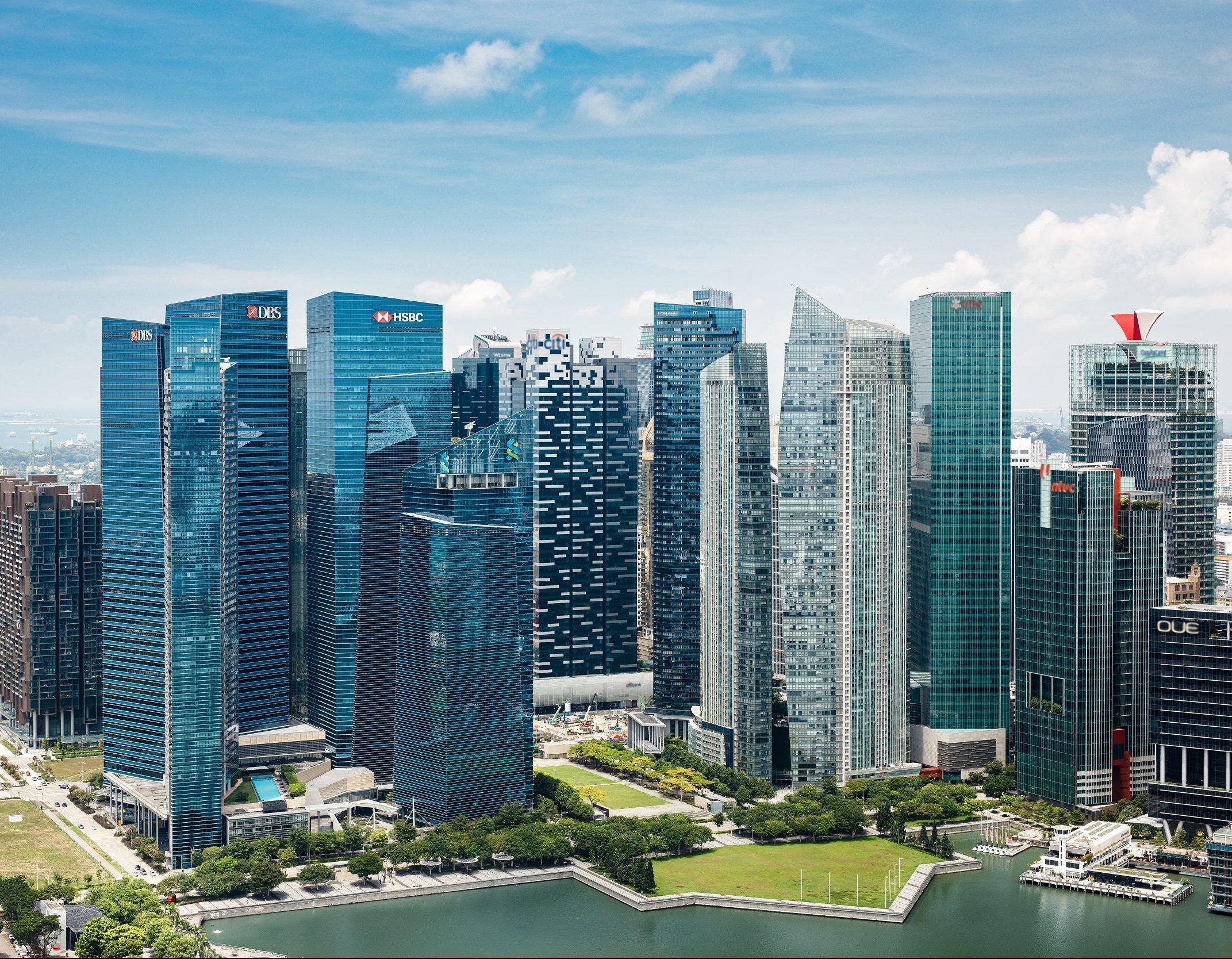 DBS, Marine Bay, Singapore