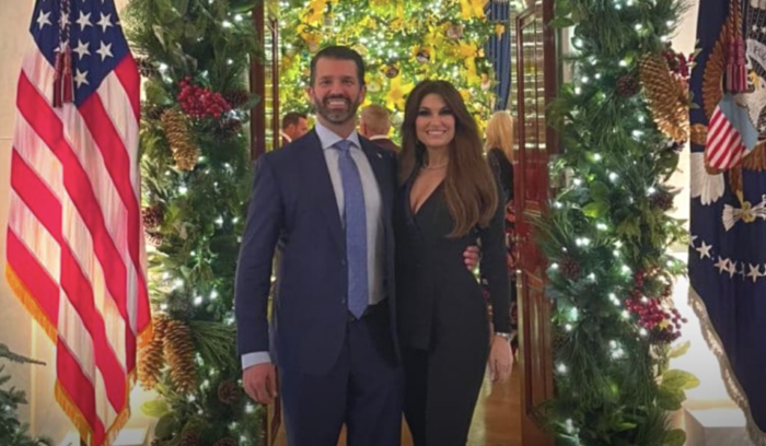 Donald Trump Jr and Kimberly Guilfoyle