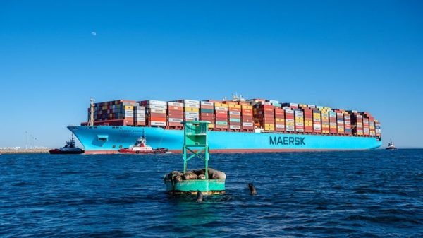 Maerks Container Shipping