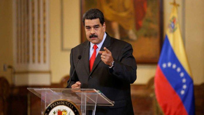 Nicolas Maduro in 2019