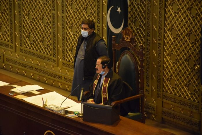 Pakistan Khyber Pakhtunkhwa Assembly, Dec 2020