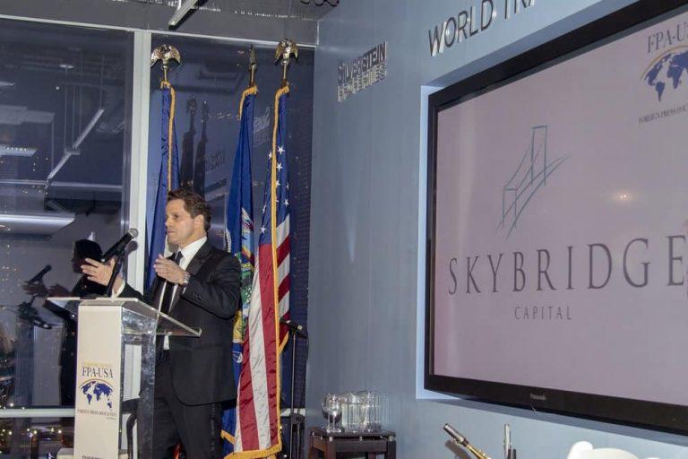 Scaramucci Skybride bitcoin fund