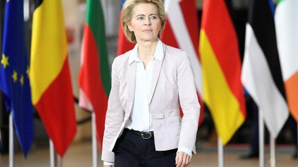 Ursula von der Leyen, European President